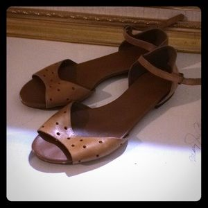 Size 7 madewell sandals! Cute! Euc